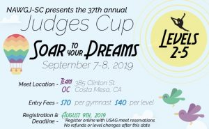 2019 NAWGJ SoCal Judges Cup @ Team OC Gymnastics