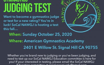 New Testing Opportunity!