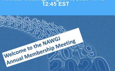 National NAWGJ Meeting
