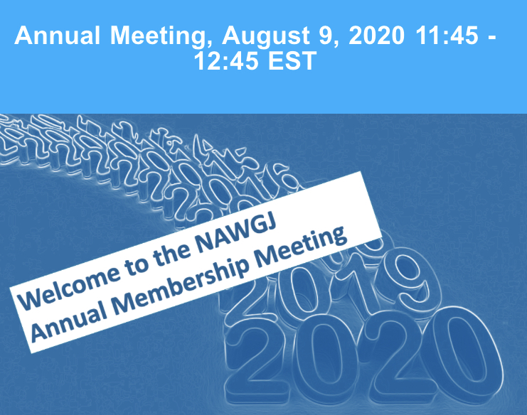 National NAWGJ Meeting