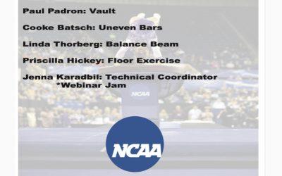 NAWGJ – Save the Date!! NCAA Virtual Judging Clinics