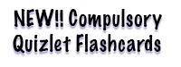 New Compulsory Quizlet Flashcards (From JD MacDonald)