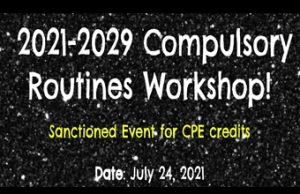 2021-2029 Compulsory Routines Virtual Workshop