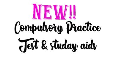 New Compulsory 2021 Study Aids!